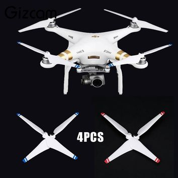 Gizcam 4PCS 9450 Propellers Blades RC Drone Helicopter Accessories For DJI Phantom 3 Professional Camera Drones Flying Propeller