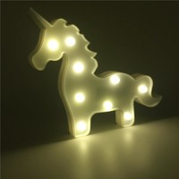 LED Unicorn Nightlight