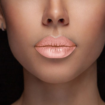 Midtown - (Brown Bourbon)  Waterproof, smudge proof,  transfer proof,  and 24 hour stay NUDE  Matte Liquid lipstick