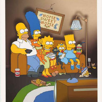 The Simpsons Family Portrait Poster 24x36
