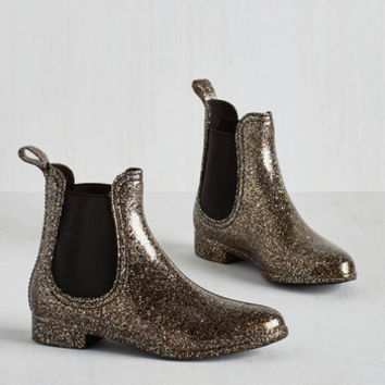 Statement Glitz Raining, Glitz Pouring Rain Boot