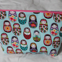 Russian Dolls  toiletry pouch