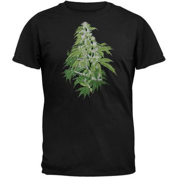 PEAPGQ9 Embroidered Kind Bud - T-Shirt