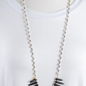 The Samantha Necklace - Black