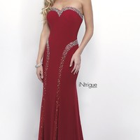 Long Strapless Prom Dress from Intrigue by Blush