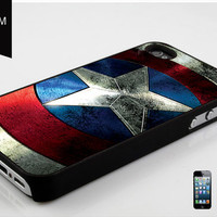 CAPTAIN AMERICA Shield Marvel Avengers design for Case iPhone 4 Case iPhone 4S Case iPhone 5 Case Hard Cover and Samsung Galaxy s3