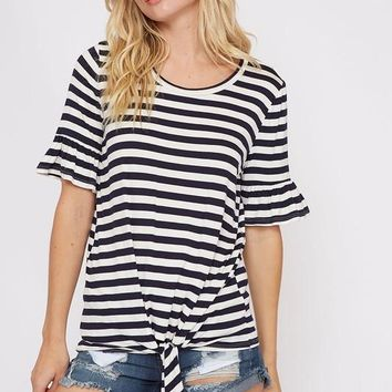 Sailing Stripes Top