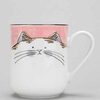 Happy Cat Mug- Multi One
