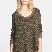 Free People 'Po Jeepster' High/Low Sweater   Nordstrom