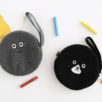Brunch brother circle zipper pouch