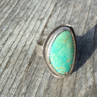Made to Order // Turquoise Shell Ring
