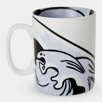 Roy Lichtenstein: Drowning Girl Mug