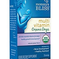 Mommy's Bliss Multivitamin Organic Drops
