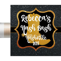 Nashville Bachelorette Party Favors | Chapstick | Nash Bash | Wedding Favors | Bridal Party Favor | Nashville Bachelorette | Hangover Kit