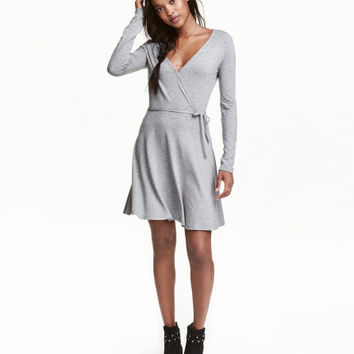 Wrap-front Dress - from H&M