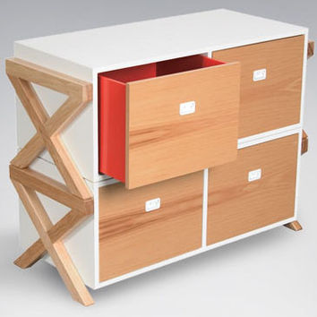 Campaign Stacking Dresser