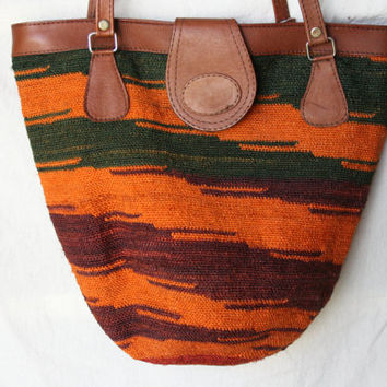 Beautiful Shigra Purse from Ecuador - Womens Purse - Womens Bag - Hippie Purse - Cool Bag - Tote Purse - Made from Shigra - Large