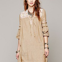 Free People Womens Ties To Florence Dress - Sahara Sand,