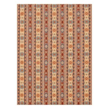 Southwestern Design Tan Tablecloth