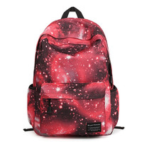 Galaxy Backpack School Canvas Bag