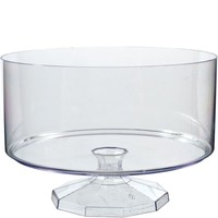 Clear Trifle Container 7 1/2in