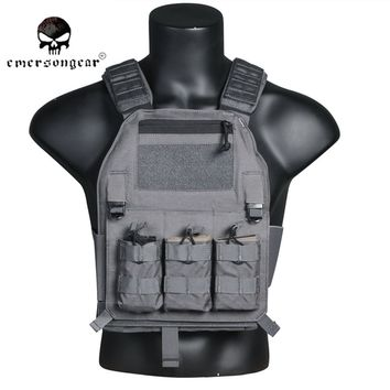 Emersongear 419 Tactical Military Molle Combat Assault 419 Plate Carrier Vest Tactical vest CS outdoor clothing Hunting EM7376