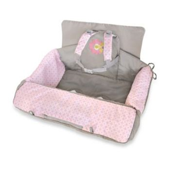 Carter's 2-in-1 Shopping Cart Cover in Flower Print