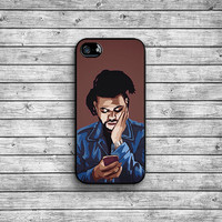 The Weeknd case - black / iPhone 4/4S iPhone 5/5S iPhone 5c iPhone 6/6s iPhone 6 Plus/6s Plus NAT-038