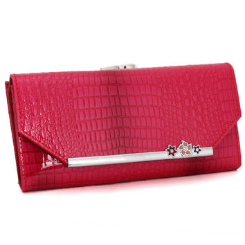 Leather Ladies Bags Fashion Wallet [9248532036]