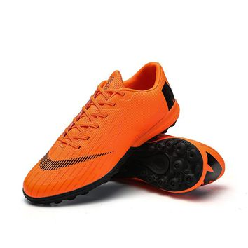 Sufei Men Soccer Shoes Turf Futsal Hard Court Superfly Football Boots Adult Outdoor Cheap Cleats Sport Sneakers