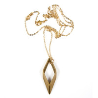 Parallelogram Necklace