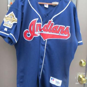 1995 CLEVELAND INDIANS Russell Diamond Collection with 1995 world series patch welco