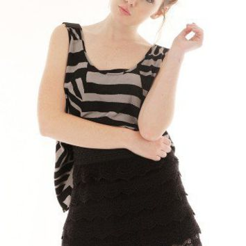 ABSTRACT PRINT TOP-Casual Tops-Casual Tops,Cute Casual Tops,trendy casual tops,Women's Casual Tops,Ladies Casual Tops,long casual tops,casual knit top