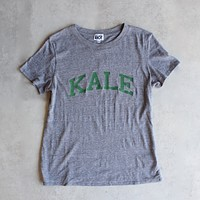 sub_urban riot - kale loose crew neck tee - heather grey