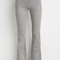 Marled Knit Bell Bottoms