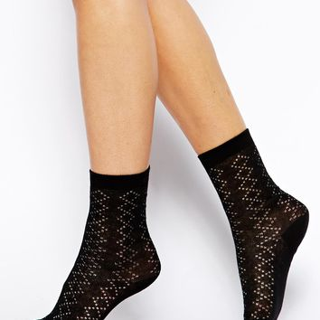 Jack Wills Pointelle Ankle Sock