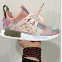 ADIDAS DUCK NMD XR1 Duck Camo Women Men Running Sport Casual Shoes Sneakers Camouflage pink