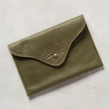 Watson Envelope Clutch by Campos Moss One Size Clutches