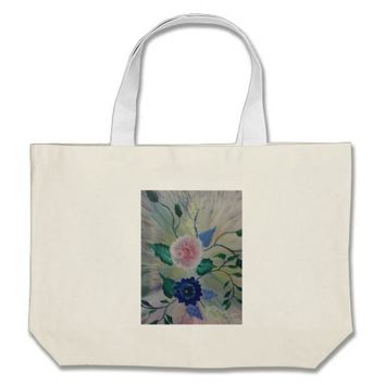BE HAPPY LARGE TOTE BAG