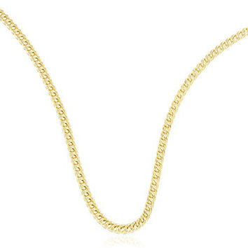 10k Yellow Gold 2.2mm - 3.5mm Franco Chain Necklace 16-32inch