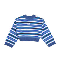Batwing sleeve Sweater Unif women Striped rainbow blue O Neck Skinny Pullover letter embroidery Sueter Mujer Poncho-in Pullovers from Women's Clothing & Accessories on Aliexpress.com | Alibaba Group
