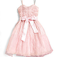 Un Deux Trois - Girl's Lace Party Dress - Saks Fifth Avenue Mobile