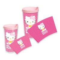 Tervis® Hello Kitty® Dots Wrap Tumblers with Pink Lid