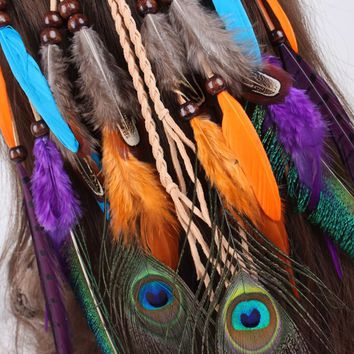 Gypsy Bohemia Feather Headdress