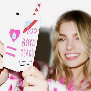 Boys Tears mobile phone case