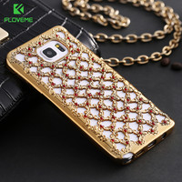 FLOVEME For Samsung A3 A5 A7 J3 J5 J7 2016 Galaxy S6 S7 Edge Note 5 Case Glitter Rhinestone For Samsung Galaxy J3 J5 A3 A5 Capa