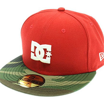 New Era DC Shoes Mens Skate Dynasty 59FIFTY Fitted Hat Cap 7 3/8