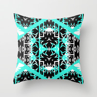 Mix #451 Throw Pillow by Ornaart
