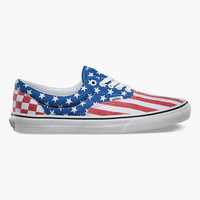Vans Van Doren Era Mens Shoes Red/White/Blue  In Sizes