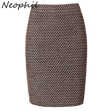Neophil Luxy Vintage Gold Metal Ladies Bandage Sexy Office Pencil Mini Skirts Summer Women Sexy Party Club Short Saia S0324